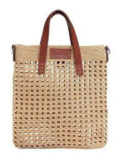 Shopper with leather bottom bag crochet – Artofit Crochet Clutch, Crochet Handbags, Crochet Bags, Knit Crochet, Art Bag, Summer Bags, Custom Bags, Knitted Bags, Handmade Bags