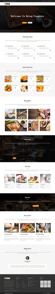 European Restaurant Responsive Joomla Template   Joomla themes and ...