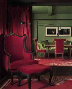 vintagerosegarden:    reclusive-genius: unrealitycircle: Gramercy Park Hotel NYC  www.gramercyparkhotel.com/de/
