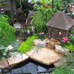 Diy Fairy Garden Ideas Homemade 38