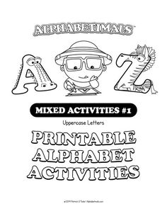 Pin By Maria Garcia On Vocales   Alphabet Activities Printable Alphabet Worksheets, Animal Worksheets, Printable Letters, Alphabet Activities, Free Printables, Lego Ninjago, Handwriting Practice Paper, Animal Alphabet, Learning Letters
