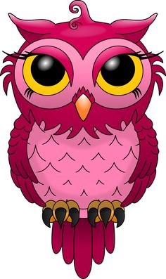 Hand-painted red owl PNG and Clipart Red Owl, Pink Owl, Owl Png, Painted Rocks, Hand Painted, Owl Clip Art, Owl Pictures, Graphics Fairy, Vector Graphics