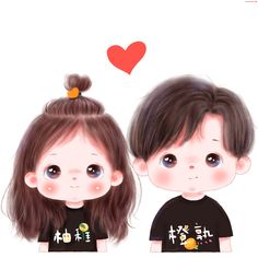 Cute Cartoon Pictures, Cute Love Pictures, Cute Cartoon Drawings, Cute Cartoon Girl, Cute Love Cartoons, Cartoon Girl Drawing, Anime Girl Drawings, Cartoon Pics, Cute Panda Wallpaper