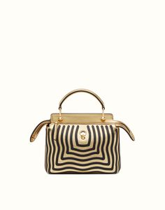 633d821095f1 DOTCOM CLICK - small gold leather handbag and clutch bag. Discover the new  collections on Fendi official website.