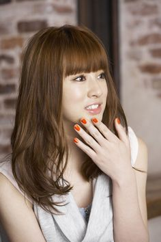 Get the latest hair care tips and hints. Asian Cute, Pretty Asian, Beautiful Asian Girls, Latest Hairstyles, Hairstyles Haircuts, Cool Hairstyles, Japanese Beauty, Asian Beauty, Cute Bangs