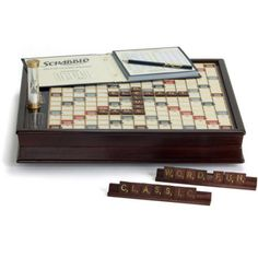 Free 2-day shipping. Buy Winning Solutions Scrabble Game Deluxe Wooden Edition at Walmart.com