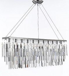 """Chandelier With Empress Crystal (Tm) Modern Contemporary """"Rain Drop"""" Chandeliers Billiard Pool Table Light Lighting With Crystal Balls - F7-B40/926/11"""