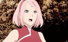 anime - naruto shippuden - haruno sakura - gif