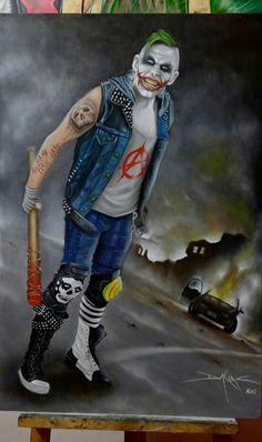 Punk Rock Joker Artist: Daking Y