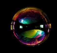 Bubbles macro images.