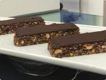 Barrinha de Cereal com Chocolate  →   #redeglobo #gshow #MaisVoce