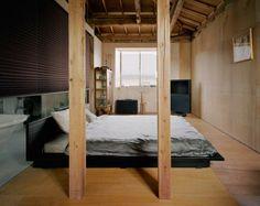 Casa a Okusawa progetto di Schemata Architects - Living