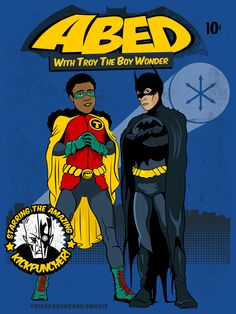 Abed with Troy the Boy Wonder - Community