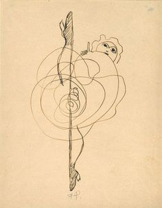 Francis Picabia - Untitled (Dancer), 1937