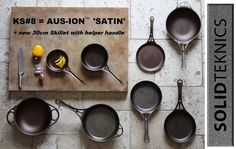 SOLIDTEKNICS - Tough Love for Cooks - innovative Australian made AUSfonte  #castiron and AUS-ION seamless steel chef cookware. More multi-century  Australian-made innovations coming soon.