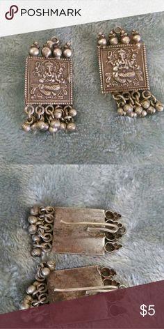 Handmade artisan elephant bohemian earrings The style may seem weird but they look cool when wearing them. Theyre handmade and bohemian style. Jewelry Earrings
