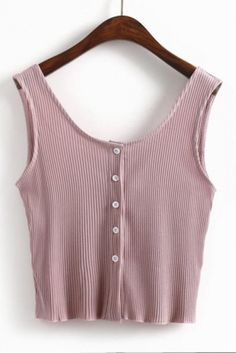 Wheretoget - Pastel pink tank crop top