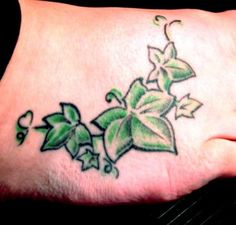 I also like this tattoo without the flowers.  Yes, I already know what I would have written under the tattoo
