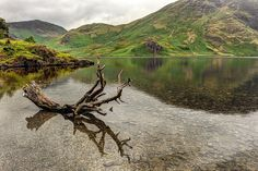 The Same Lake in the Lake District of England by eScapes Photo, via Flickr