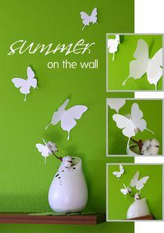 butterflys wall paper