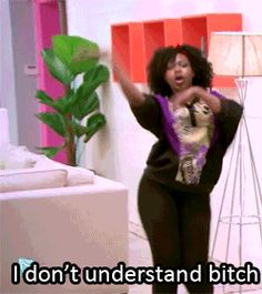 "I don't understand, I don't understand. Bitch #erika #dance #bgc9 HAHA, I do this dance every time ""I don't understand"" :D"
