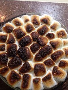 dessert of marshmallows