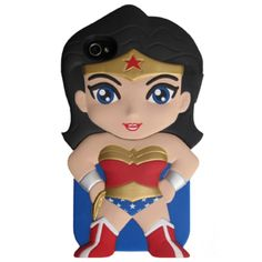 Feeling like a super hero?! ORDER this fabulous Wonder Woman case!This is a Licensed DC Chara-Cover- Durable hard shell and rubberized coating- Enhanced grip and shock protection- Snaps in place securely, providing - Enchanced protection against minor drops and scratches*LIMITED QUANTITIES AVAILABLE*