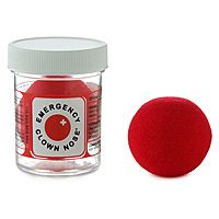 EMERGENCY CLOWN NOSE.  I could really use this at work when dealing with upset and inconsolable toddlers.  #UncommonGoods