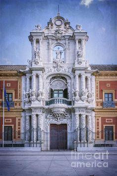 Title  Palacio De San Telmo Sevilla   Artist  Joan Carroll   Medium  Photograph - Digital Art