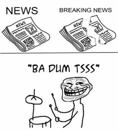 Breaking News #ABCNews, #Funny, #Memes