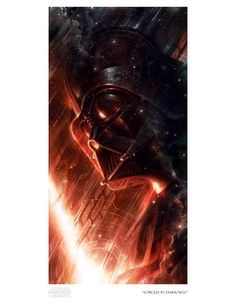 Forged in Darkness Giclee Art Print | Sideshow Collectibles Raymond Swanland, Star Wars Prints, Art Terms, Fine Art Prints, Canvas Prints, Bad Art, Small Canvas, Sideshow Collectibles, Print Artist