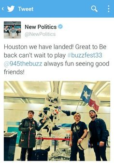 The guys posted this on twitter New Politics, Best Friends, Wrestling, Guys, Twitter, Beat Friends, Lucha Libre, Bestfriends, Sons