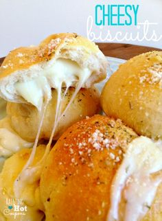 Cheesy Biscuits Recipe -   ■1 Pillsbury Grands Flaky Layers Biscuits can  ■1 package mozzarella cheese (you can also use your favorite cheese)  ■Olive oil  ■Grated Parmesan Cheese  ■Oregano/Italian Seasoning  ■Salt