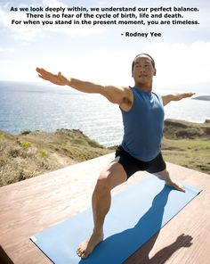 Stream Rodney Yee yoga classes online at GaiamTV.com