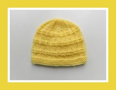 So sweet ! Easy-to-knit ! Free pattern