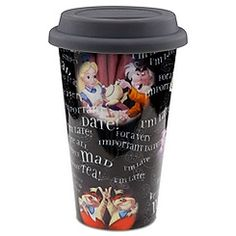 Alice in Wonderland Travel Tumbler-I want this for my birthday!