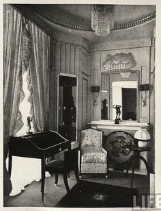 Paris Exposition, 1925. Interior by kitchener.lord, via Flickr