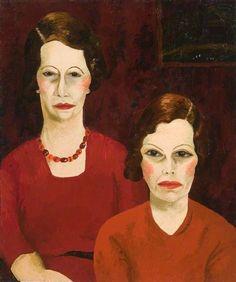 Cedric Lockwood Morris (1889–1982) Two Sisters
