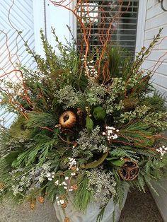Winter pot in neutra