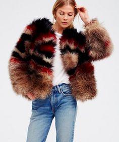 FP Scarlet Faux Fur Jacket| TrufflesandTrends.com