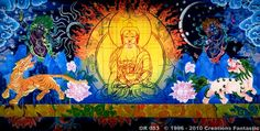 Backdrop OR 053 Techno Buddha
