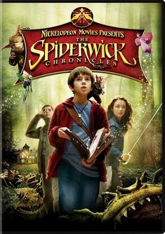 """The Spiderwick Chronicles is based on """"The Spiderwick Chronicles"""" book series by Holly Black and Tony DiTerlizzi 