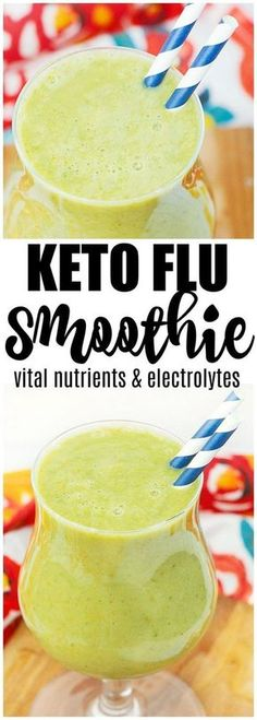 keto flu smoothie