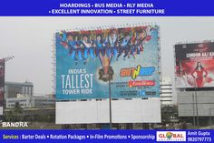 Creative Outdoor Advertising Through Billboards for Concessioners At Charni Road - Global Advertisers
