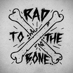 """324 """"Μου αρέσει!"""", 19 σχόλια - Jamie Browne (@jamiebrowneart) στο Instagram: """"Rad To The Bone #jamiebrowneart #volcomstone #broken #bones #rad #bad #sketchy #tee #tatt #junk…"""""""