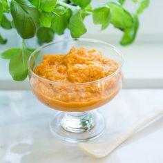 Vegetarisk gryta med röda linser - Recept - Tasteline.com Baby Food Recipes, Punch Bowls, Broccoli, Curry, Vegetarian, Tack, Children, Recipes For Babies, Olives