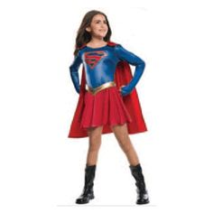 Supergirl TV Show Girls Costume. Shop Anytime w/ ease. Offering Girls costumes since  sc 1 st  Pinterest & 54 best Superhero Costumes images on Pinterest | Baby costumes ...