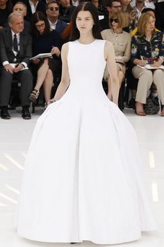 Christian Dior fall 2014 couture gown