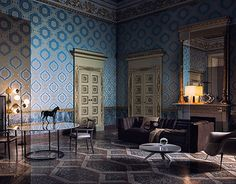 """Check out new work on my @Behance portfolio: """"Royal Palace Interiors"""" http://be.net/gallery/48441687/Royal-Palace-Interiors"""