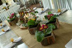 Centros de mesa Matrimonio Ana Maria & Juan David